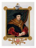 """Portrait of Sir Thomas More (1478-1535) from """"Memoirs of the Court of Queen Elizabeth"""" - Sarah Countess Of Essex"""