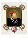 Portrait of Thomas Boleyn (1477-1539) Earl of Wiltshire from Memoirs of Court of Queen Elizabeth - Sarah Countess Of Essex