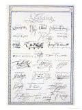 Reproduction of Signatures of the Tudors and Their Court - Sarah Countess Of Essex