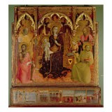 Altarpiece of the Madonna of the Snow, c.1430-32 - Sassetta