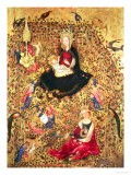Madonna with a Rose Bush - Sassetta