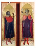 Saints Victor and Ansanus - Sassetta