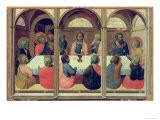 The Last Supper, from the Arte Della Lana Altarpiece, c.1426 - Sassetta