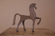 sculpture animaux : Cheval en parade