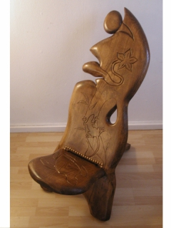 sculpture chaise bois sculpture palabre sculpture bois chaise palabre. Black Bedroom Furniture Sets. Home Design Ideas