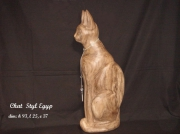 sculpture : Chat Styl Egyp