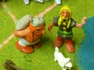 Sculpture d'art - asterix et obelix