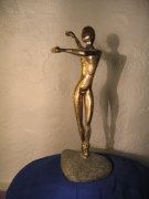 sculpture : LA DANSEUSE