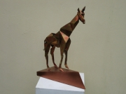 sculpture : La girafe