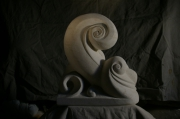 "sculpture : La vague ""rieuse"""