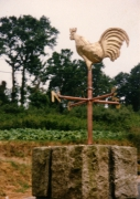 sculpture : Le coq