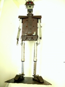 sculpture personnages sculpture metal robot art brut art singulier : ANDROID