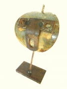 sculpture personnages sculpture metal spi art brut art singulier : SPI