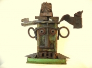 sculpture personnages sculpture metal troll artbrut art singulier : TROLL