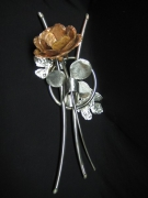 sculpture : rose