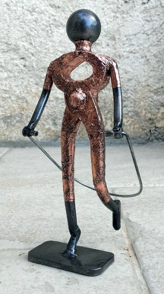 sculpture sport saut la corde sportif saut la corde. Black Bedroom Furniture Sets. Home Design Ideas