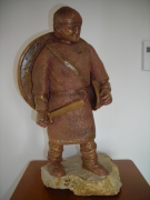 sculpture : viking