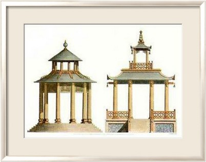 Sir william chambers architecture chinoise for Architecture chinoise