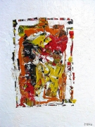 tableau abstrait abstait contemporain abstract contemporary : Datsu
