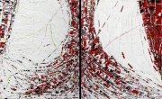 tableau abstrait abstrait contemporain abstract contemporary : Bocas del toro