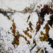 tableau abstrait abstrait contemporain abstract contemporary : Sonate