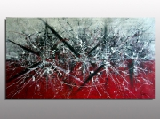 tableau abstrait action painting art abstraction lyrique lepolsk matuszewski exposition atelier v : APOCALYPSE