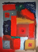 tableau abstrait contemporain design decoration v : V