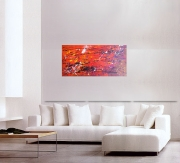 tableau abstrait tableau art moderne design : ARDENT