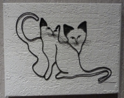 tableau animaux chat : chats