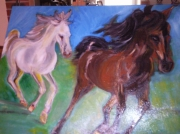 tableau animaux : chevaux