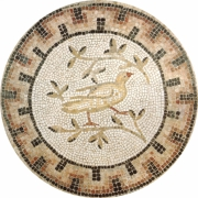 tableau animaux colombe mosaique : Colombe