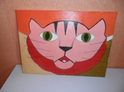 tableau animaux cote d or bourgogne beaune maison : chat