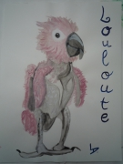 tableau animaux louloute : Louloute