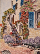 tableau architecture : Saint Paul de Vence N° : 03 DS 02