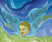 tableau autres ode ange musique : Ode