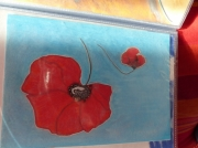 tableau : coquelicot 2