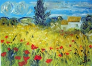 tableau : COQUELICOTS