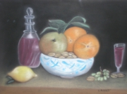 tableau : Corbeille de fruits