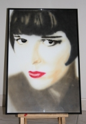 tableau louise brooks aerographie aerographe : Louise Brooks