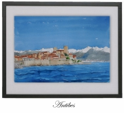 tableau mer antibes coted : ANTIBES