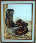 tableau nature morte : chaussure