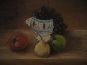 tableau nature morte samare colgate : fruits
