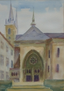 tableau paysages cathedrale du luxemb paintings arts and ,a artistespeintres lu art abdellatif zerai : Cathédrale du Luxembourg