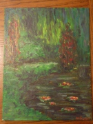 tableau paysages : giverny