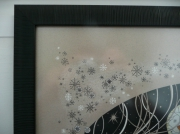 tableau paysages hiver noel neige winter : Winter time