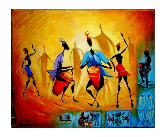 Tableaux africain