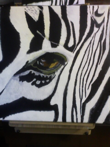 Tableau Africain Zebre