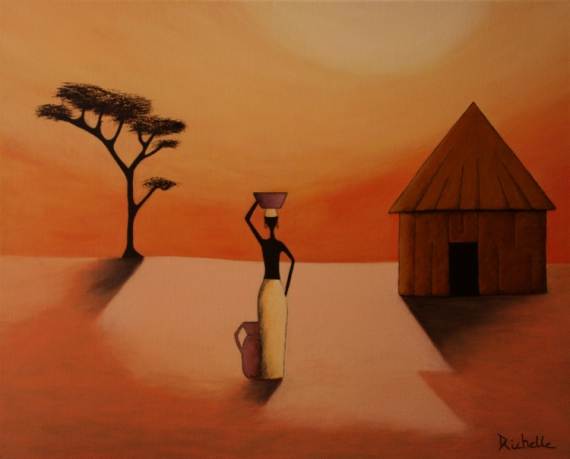 Scenery spring pictures images paysages afrique - Dessin paysage africain ...