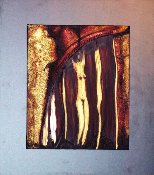Tableau peinture art acrylique abstrait moderne philifemme - Tableau peinture acrylique moderne ...