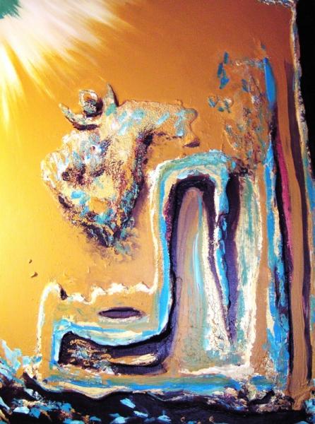 Tableau peinture art huile personnage moderne angel2 - Tableau peinture a l huile moderne ...